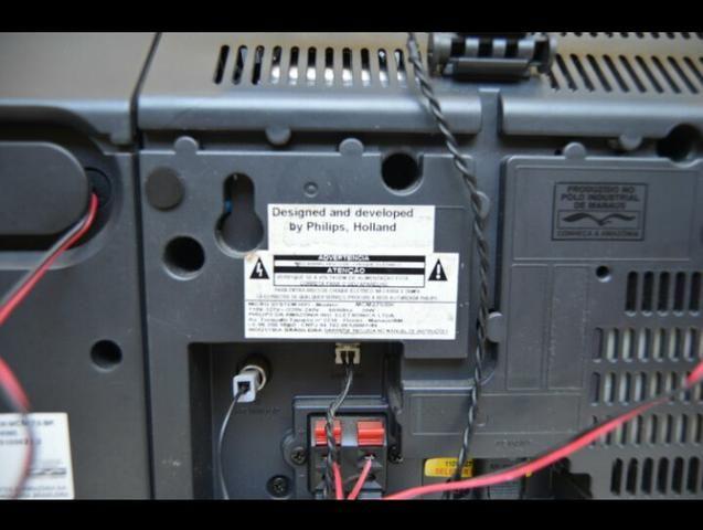 Tocador de CD, rádio, USB - Philips - Foto 3