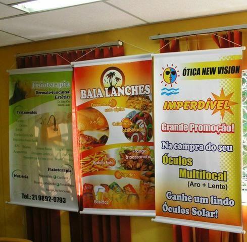 Banner Personalizado Impressão Digital do Mais Alto Padrão Valores Especiais - Foto 3