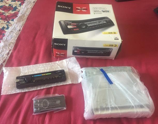 Toca CD SONY COM USB E CONTROLE REMOTO - Foto 5