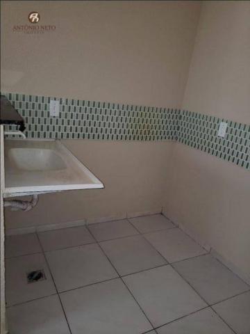 Apartamento com 2 dormitórios para alugar, 40 m² por R$ 500,00/mês - Serrinha - Fortaleza/ - Foto 4