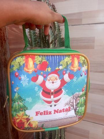 Bolsa de natal , transparente para você presentear quem você ama nesse fim de ano - Foto 2