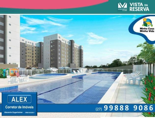 ALX - 46 - Apartamento com 3 Quartos - Entrada Parcelada em 60 meses - Vista da Reserva