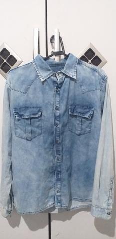 Camisa Social Jeans 40 Reais