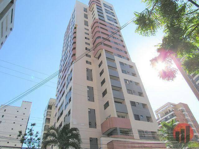 Apartamento com 2 dormitórios para alugar, 70 m² por R$ 1.300,00 - Meireles - Fortaleza/CE - Foto 2