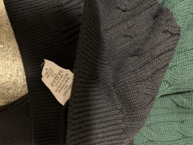 Casaco de lã em gola V - Foto 4