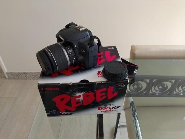 Câmera Digital Canon Rebel XS + Lente + Acessórios - Foto 2