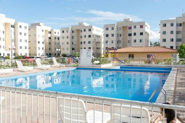 Alugo Apartamento Semi-mobiliado - Condomínio Ouro Negro - Próximo a Rodoviária da Cidade - Foto 9