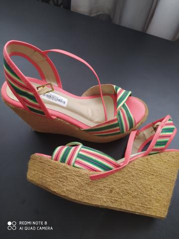 Sandália plataforma verão - Foto 4