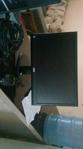 Vendo um monitor com teclado mais computador - Foto 3