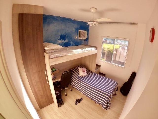 Lindo Apartamento 3 Quartos com Suíte Montado no Condomínio Villaggio Manguinhos - Foto 11