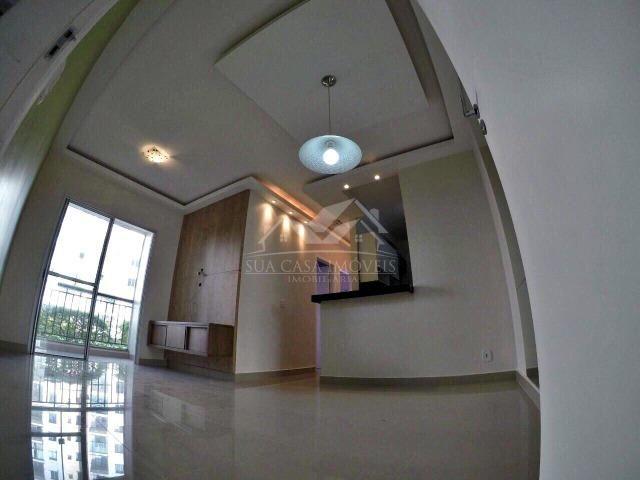 WC - Apartamento no porcelanato mais quintal privativo - ES - Foto 7