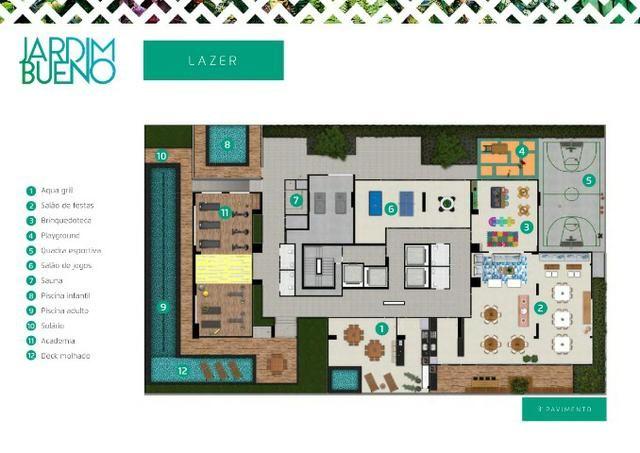 Ultima Penthouse Disponível - 218m² - Próximo do Goiânia Shopping e Parque Vaca Brava - Foto 4