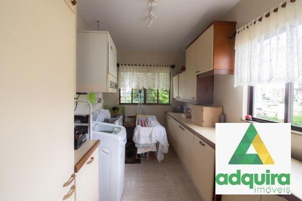 Casa com 4 quartos - Bairro Jardim Carvalho em Ponta Grossa - Foto 12