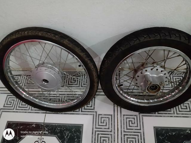 Vendo rodas da pop 110i - Foto 2