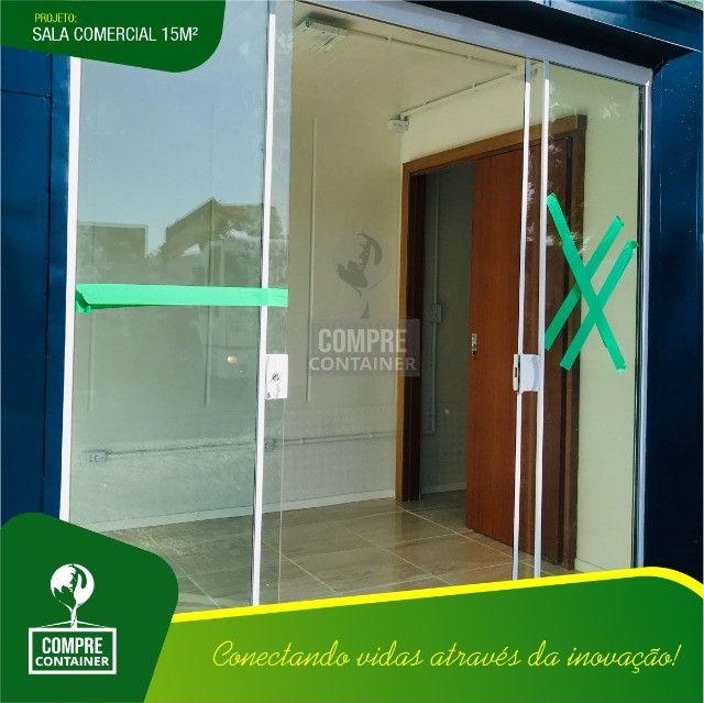Loja/Escritório em Container 15m² - Foto 3