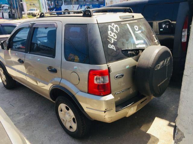 Ecosport Xl 1.6 flex 2007 Retirada De Peças