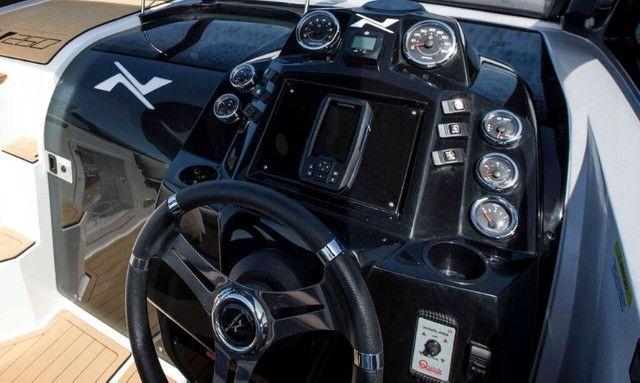 Lancha Nx 260 Challenger Cabinada Em 60x - Foto 17