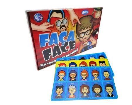 Jogo Faça Face Monte Suas Carinhas Brinquedo (Entrega Imediata) - Foto 2