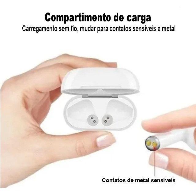 Fone de Ouvido Sem Fio Bluetooth i13s 5.0 Touch - Tws - Foto 3