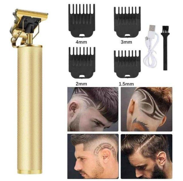 Máquina de cortar cabelo e barba
