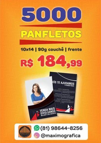 ofertas Panfletos profissionais peça já