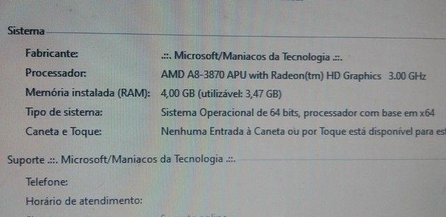 Memoria DDR3 2 pente de 2GB para PC funcionando perfeitamente - Foto 3