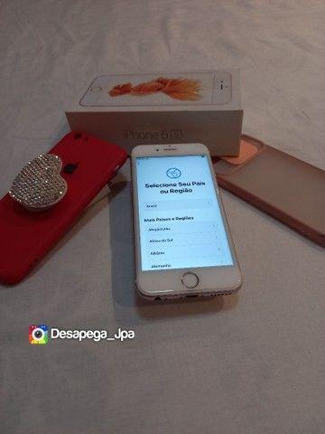 Iphone 6s 64 Gb impecável aceito trocas  - Foto 2