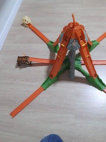 Pista caveira hotweels original sem avarias funcionando presente para criança   - Foto 3