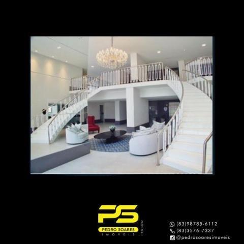 Apartamento com 4 dormitórios à venda, 216 m² por R$ 1.522.234 - Altiplano Cabo Branco - J - Foto 2