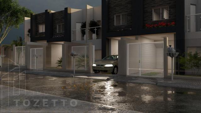 Sobrado para Venda em Ponta Grossa, Oficinas, 2 dormitórios, 2 suítes, 3 banheiros, 1 vaga - Foto 2
