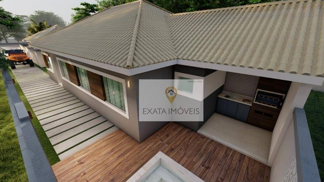 Lançamento! Casas lineares 3 quartos, com piscina/ varanda gourmet, Floresta das Gaivotas/ - Foto 3
