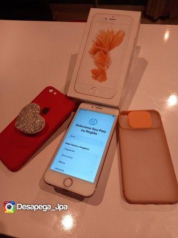 Iphone 6s 64 Gb impecável aceito trocas  - Foto 5