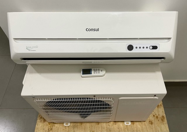 Ar condicionado consul 9000 Btus convencional + incluso instalação simples