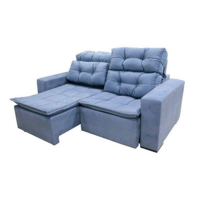 Sofá retrtátile reclinável 1,80 sochi - Foto 3