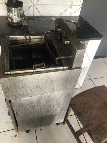 Fritadeira industrial elétrica  - Foto 2
