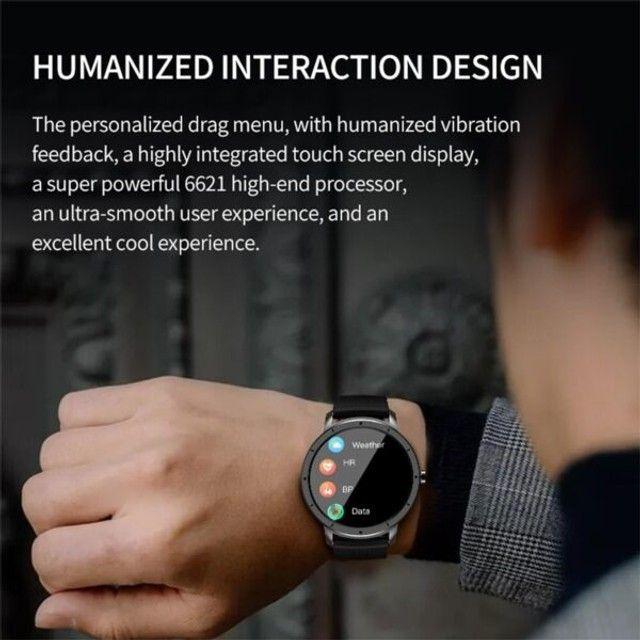 Smartwatch Howear HW21 Relógio Inteligente Com Frequência Cardiaca - Foto 6