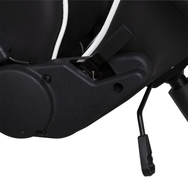 Cadeira Gamer PrimeX Preto/Branco Dazz - Loja Natan Abreu - Foto 5