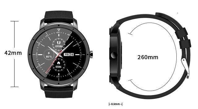 Smartwatch Howear HW21 Relógio Inteligente Com Frequência Cardiaca - Foto 4