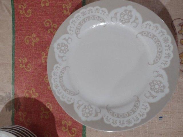 Aparelho de jantar pra 6 lugares modelo renda  - Foto 5