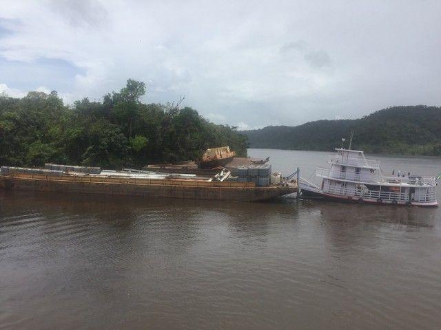 Transporte de carga com balsa e Empurrador  - Foto 6