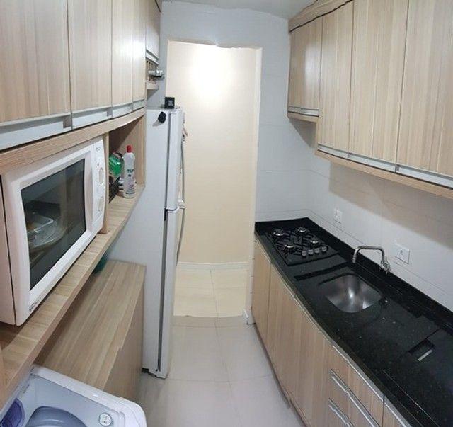 Apartamento com 3 quartos semi mobiliado no_Fazendinha - Foto 3