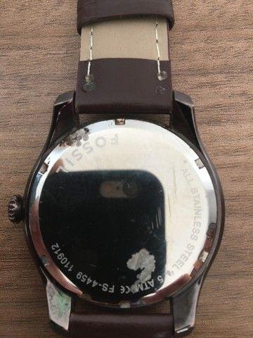 Relógio Fs4459 Men Watches: Brown Leather Strap - Fossil  - Foto 3