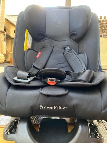 Fisher Price Cadeira Para Auto All Stages Isofix 36 Kg Preto