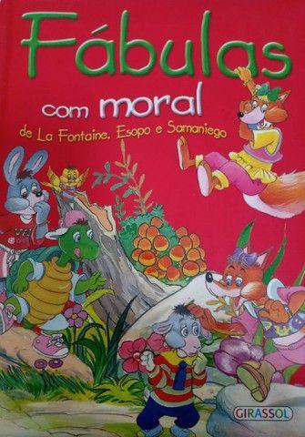 Livro: Fábulas com moral de Esopo