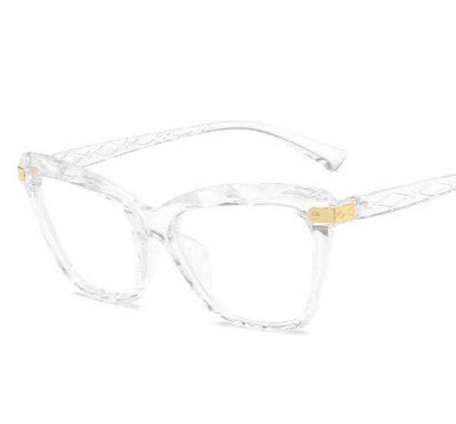 Armação gatinho para grau Óculos 3D  - Foto 4
