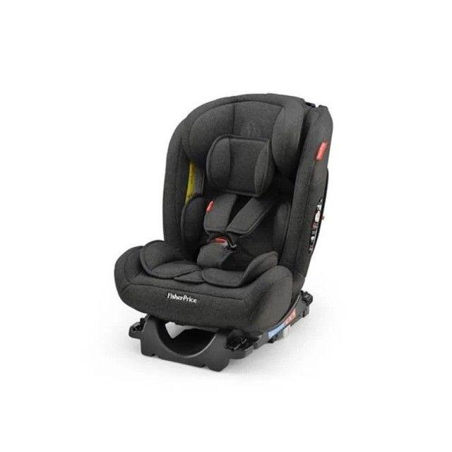 Fisher Price Cadeira Para Auto All Stages Isofix 36 Kg Preto - Foto 4
