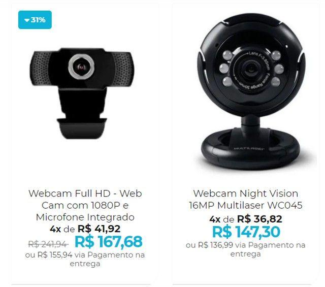 Webcam de Qualidade - Home office com uma web cam de primeira - Foto 3
