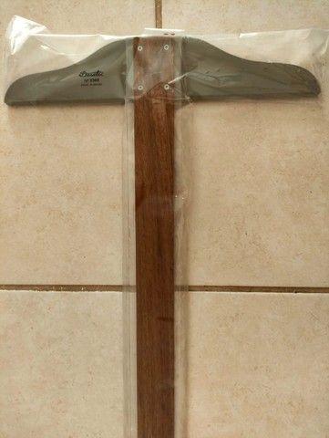 Régua T Desert 5308 Trident 80cm Nova - Foto 4