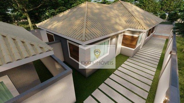 Lançamento! Casas lineares 3 quartos, com piscina/ varanda gourmet, Floresta das Gaivotas/ - Foto 5