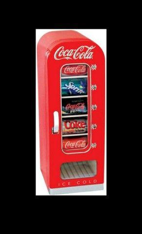 Vendo Mini geladeira coca cola vintage - Foto 2
